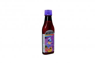 Emulsión De Scott Frasco Con 180 mL - Sabor Frutas Tropicales