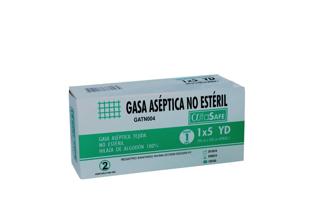 """Gasa Aséptica No Estéril 1"""" x 5 Yardas Caja Con 1 Unidad"""