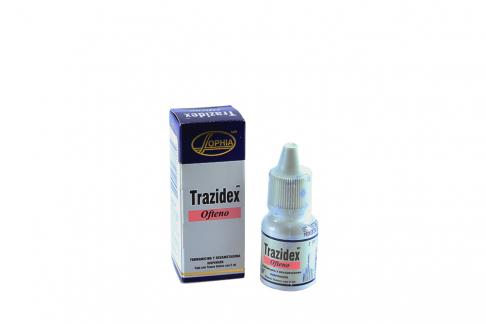 Trazidex Ofteno Suspensión Caja Con Frasco Con 5 mL Rx