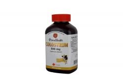 Prime Health Colostrum 500 mg Frasco Con 100 Cápsulas