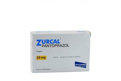 Zurcal 20 mg Caja Con 28 Grageas Rx