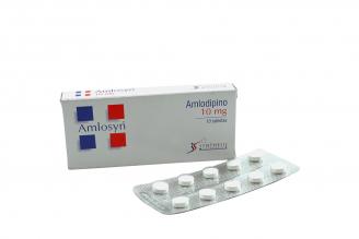 Amlosyn 10 mg Caja Con 10 Tabletas Rx4