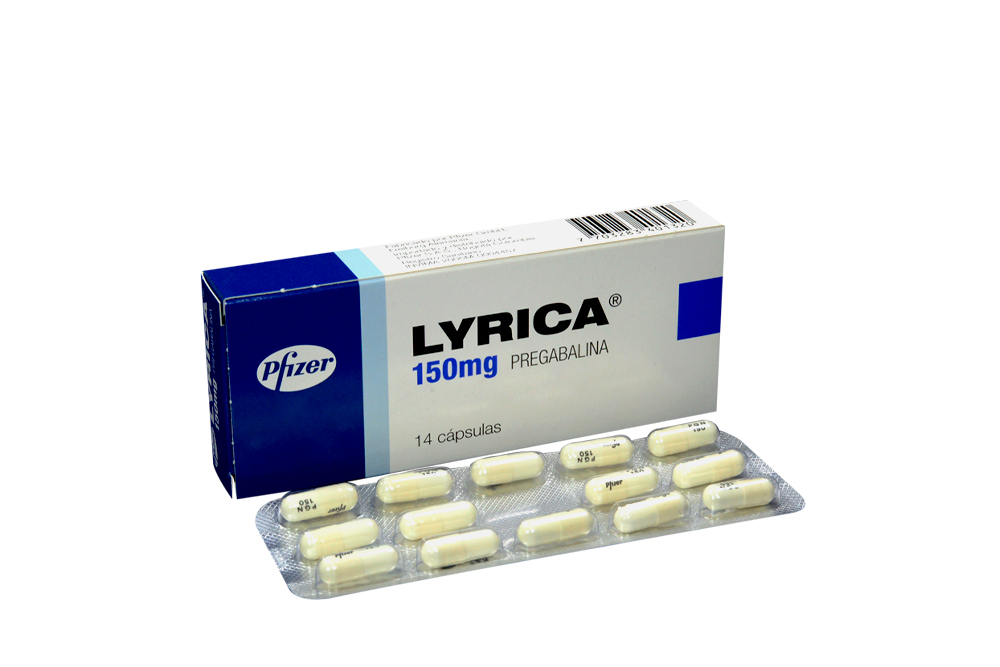 Lyrica 150 mg Caja Con 14 Cápsulas Rx4 RX1