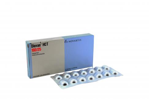 Diovan Hct 160 / 25 mg Caja Con 14 Tabletas Rx4