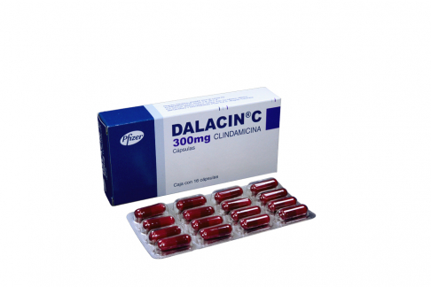 Dalacin C 300 mg Caja Con 16 Cápsulas Rx2