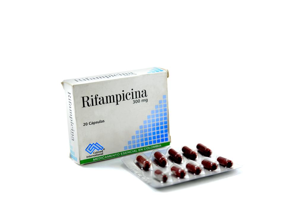 Rifampicina 300 mg Caja X 20 Cápsulas Rx2