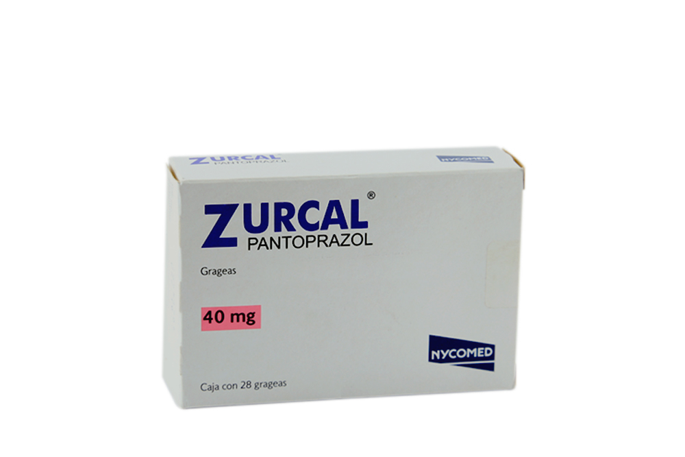 Zurcal 40 mg Caja Con 28 Grageas Rx