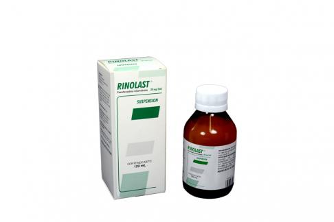 Rinolast 30 mg / 5 mL Caja Con Frasco Con 120 mL Rx