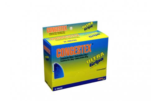 Congestex Ultra Caja Con 32 Tabletas - Resfriado