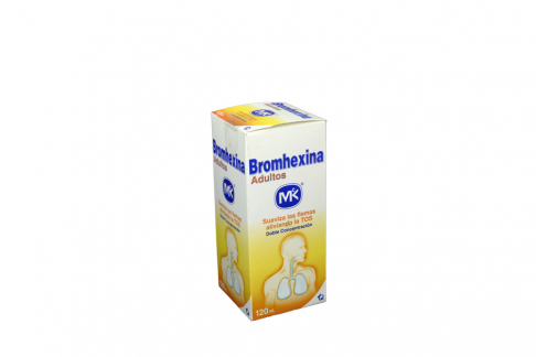 Bromhexina Mk Jarabe Frasco Con 20 mL