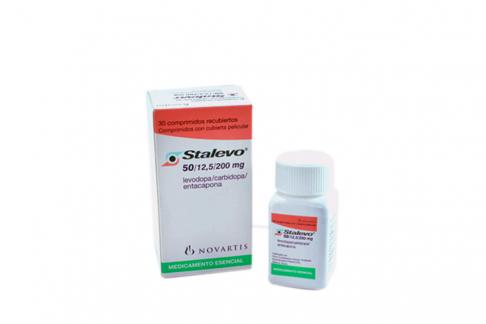 Stalevo 50 / 12.5 / 200 mg Caja Con Frasco Con 30 Comprimidos Con Cubierta Pelicular Rx4