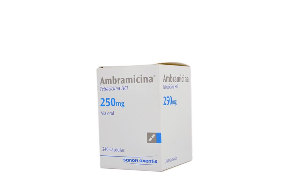 Ambramicina 250 mg Caja Con 240 Cápsulas Rx2
