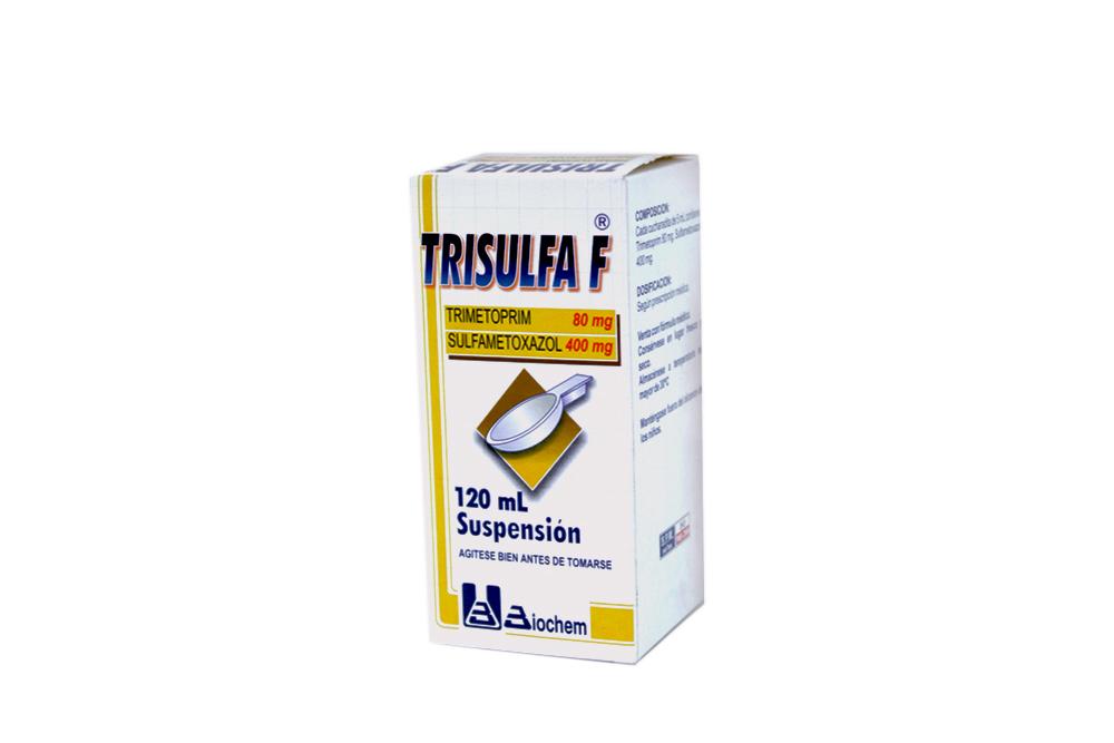Trisulfa F Caja Con Frasco Con 120 mL Rx