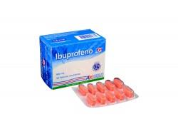 Ibuprofeno 800 mg Caja Con 50 Tabletas Recubiertas Rx
