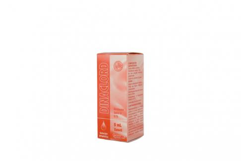 Dinaclord 0.1% Caja Con Frasco x 5 mL Rx