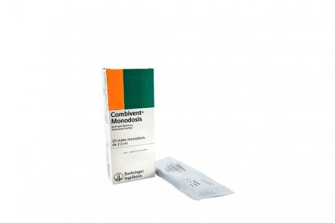 Combivent Caja Con 20 Viales Monodosis  Con 2.5 mL CU Rx