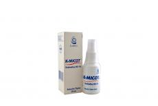 K-Micot 1% Solución Tópica Caja Con Frasco Con 30 mL