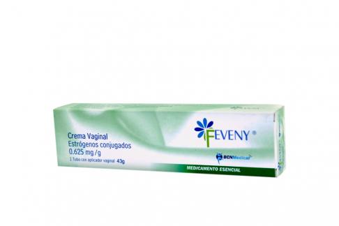 Feveny 0.625 mg Crema Vaginal Caja Con Tubo Con 43g Rx Rx1