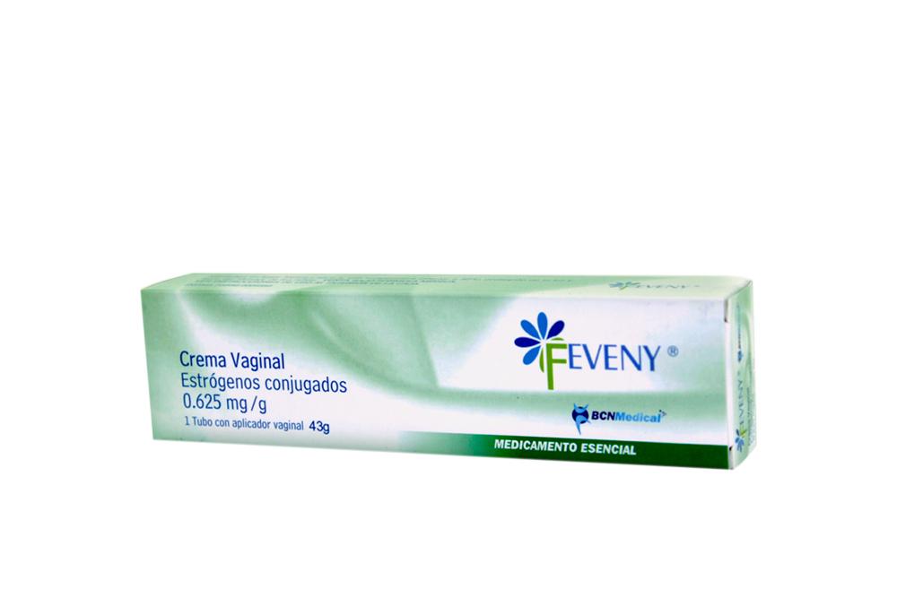 Feveny 0.625 mg Crema Vaginal Caja Con Tubo Con 43g Rx