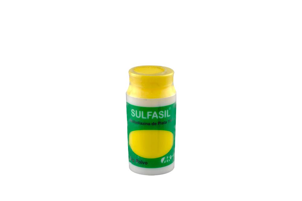 Sulfasil Polvo 1% Frasco Con 18 g