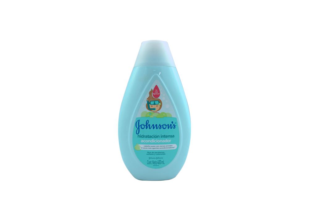 Acondicionador Johnson's Hidratación Intensa Frasco Con 400 mL
