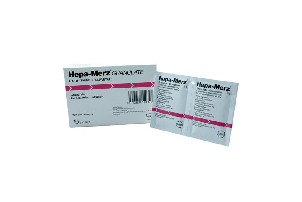 Hepa-Merz Granulado 3 g Caja Con 10 Sobres Rx