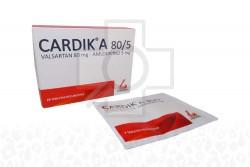 Cardik A 80 / 5 mg Caja Con 28 Tabletas Rx Rx4