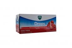 Vick Drops Pastillas Refrescantes Caja Con 24 Sobres Con 5 Pastillas C/U – Sabor Cereza