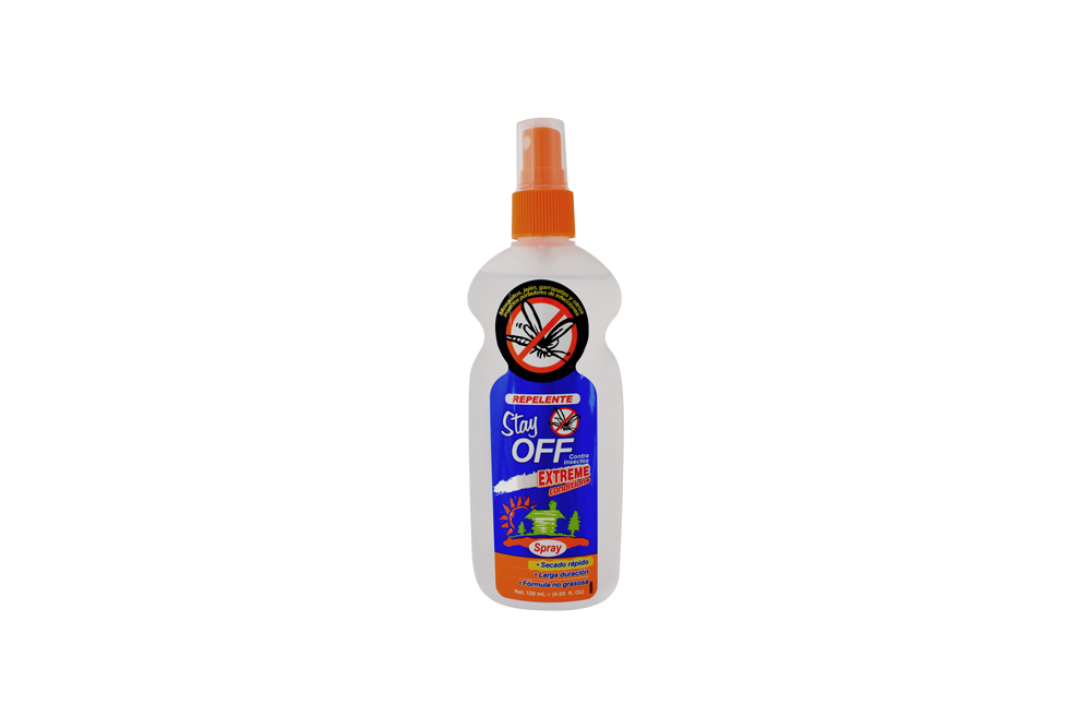 Repelente Stay Off Extreme Spray Con 120 mL