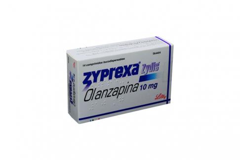 Zyprexa Zydis 10 mg Caja Con 14 Tabletas Dispersables Rx4