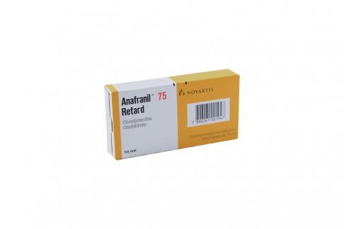 Anafranil Retard 75 Mg Caja X 10 Grageas RX