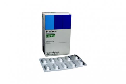 Pradaxa 150 mg Caja Con 60 Cápsulas Rx4