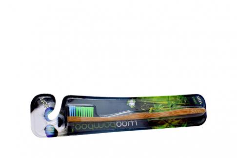 Cepillo Dental Woobamboo Adulto Dureza Suave Empaque Con Unidad