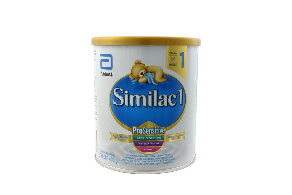 Similac 1 ProSensitive Tarro Con 400 g – 0 a 6 Meses