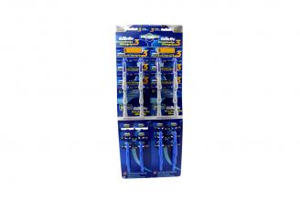 Máquina Para Afeitar Gillette Prestobarba Ultragrip 3 + Prestobarba Ultragrip Empaque Con 24 Unidades