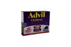 Advil Children Caja Con 6 Sobres Con 2 Tabletas Masticables C/U