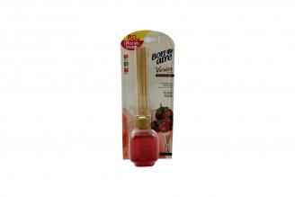 Ambientador Varitas Bon Aire Empaque Con Frasco Con 80 mL  - Aroma Frutos Rojos