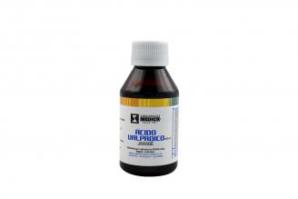 Ácido Valproico Jarabe 5 g / 100 mL Caja Con Frasco Con 120 mL Rx