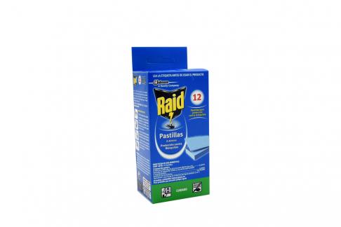 Raid Pastillas Caja Con 12 Unidades