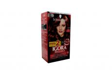Tinte Igora Brillance 777 Cobrizo Sensación Caja Con 1 Kit Con 2 Tubos