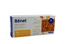 Bénet Frutos Amarillos Caja Con 2 Barras Nutricionales Con 45 g C/U