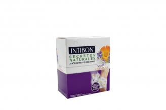 Jabón Íntimo Intibón Salvia y Caléndula Caja Con 12 Sobres Con 14 g C/U