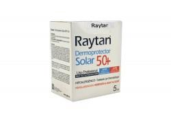 Bloqueador Raytan Spf 50+ Caja Con 40 Sachets Con 5 mL C/U