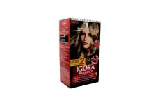Tinte Igora Brillance 700 Rubio Destellante Caja Con 1 Kit Con 2 Tubos