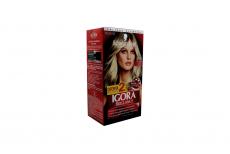 Tinte Igora Brillance 801 Rubio Claro Cenizo Caja Con 1 Kit Con 2 Tubos