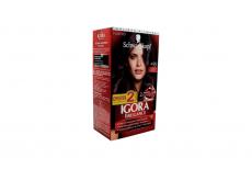 Tinte Igora Brillance 499 Violeta Profundo Caja Con 1 Kit Con 2 Tubos