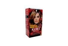 Tinte Igora Brillance 80 Rubio Luminoso Caja Con 1 Kit Con 2 Tubos