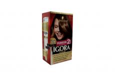 Tinte Igora Vital 6-1 Rubio Oscuro Cenizo Caja Con 1 Kit Con 2 Tubos