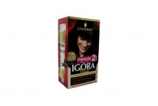 Tinte Igora Vital 5-65 Café Moca Mediano Caja Con 1 Kit Con 2 Tubos