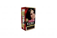 Tinte Igora Vital 1-0 Negro Caja Con 1 Kit Con 2 Tubos